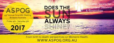 Australian Society for Psychosocial Obstetrics and Gynaecology (ASPOG)