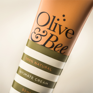 Olive & Bee: the best ever lubricant and vaginal moisturizer.